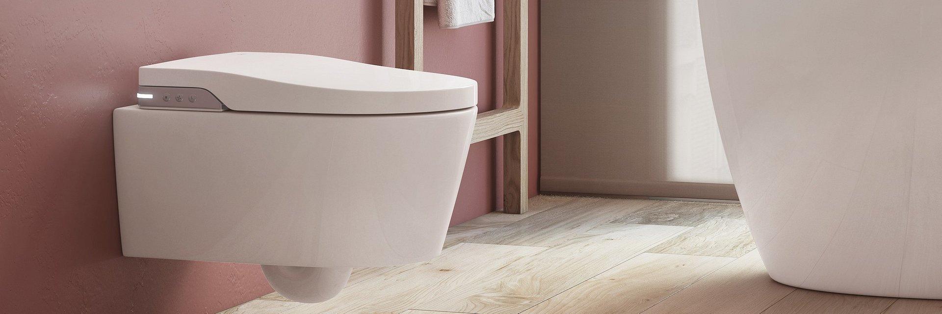 Inteligentna łazienka z toaletą myjącą In-Wash® Inspira Roca