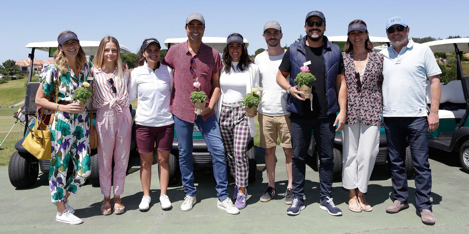 Clínica de Golfe no Belas Clube de Campo junta Ricardo Pereira e grupo de atores luso-brasileiro