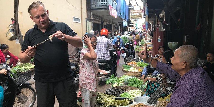 """""""Szokujące potrawy"""" w Kambodży!"""