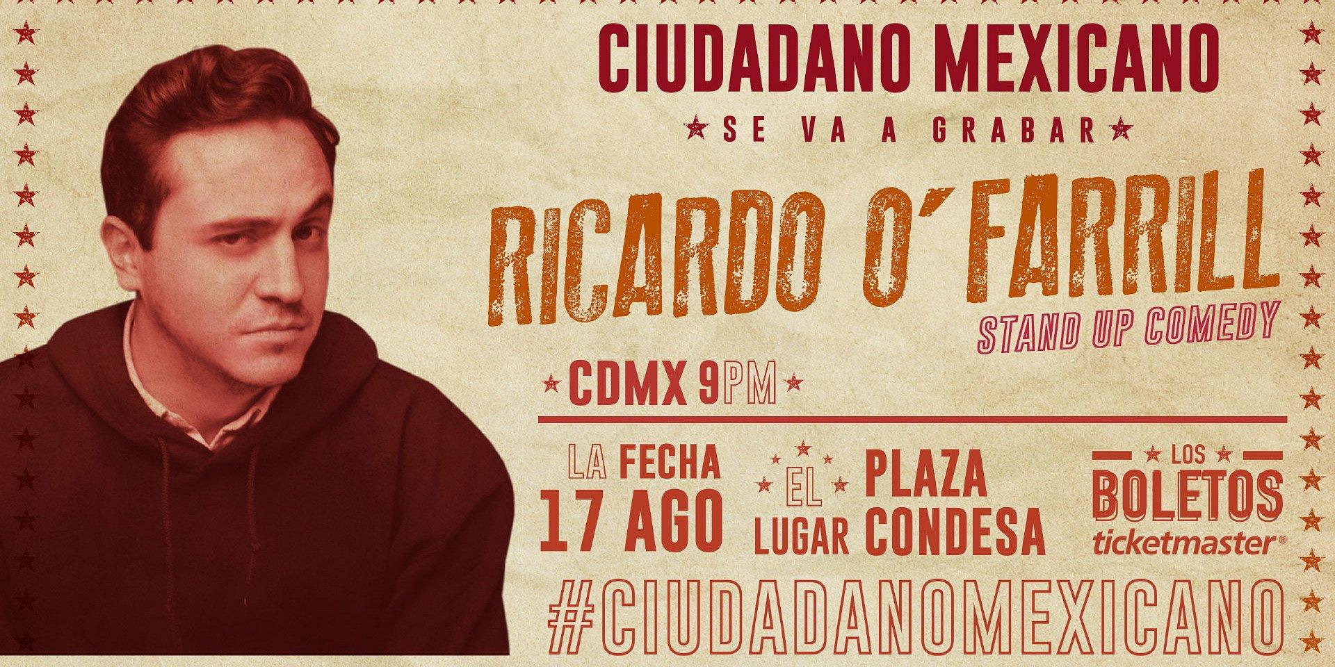 Ricardo O'Farrill en El Plaza Condesa