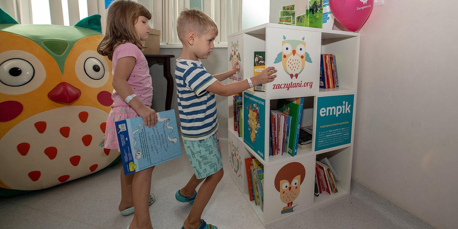 Otwarcie Biblioteki Małego Pacjenta w Łodzi. Sukces wspólnej akcji Fundacji Zaczytani.org oraz Empiku