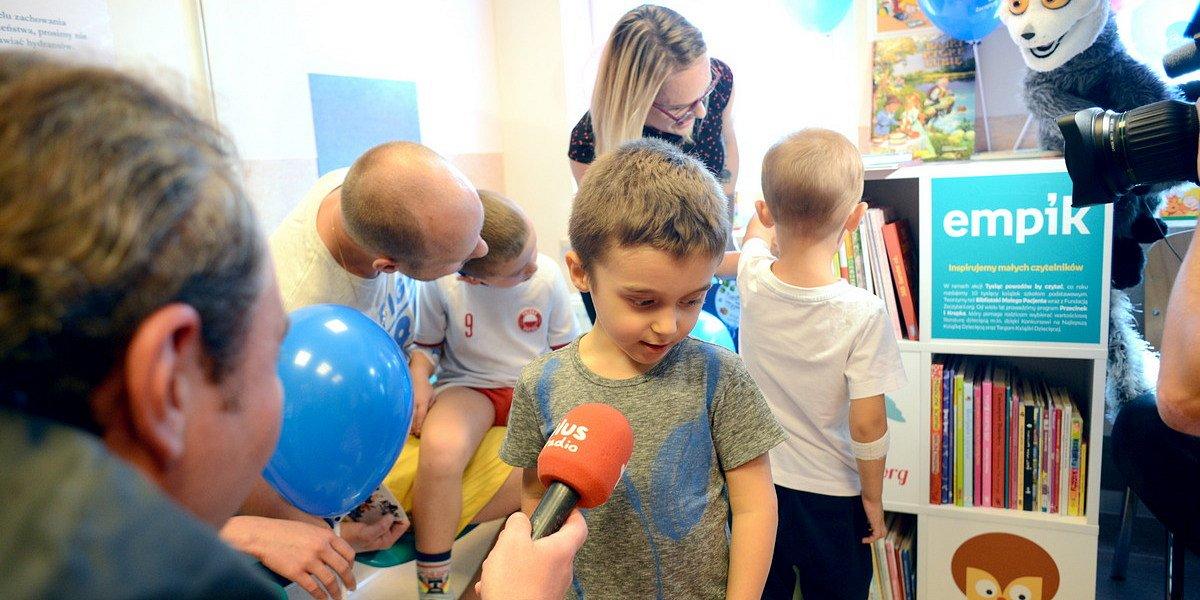 Fundacja Zaczytani.org i Empik otwierają Bibliotekę Małego Pacjenta w Warszawie
