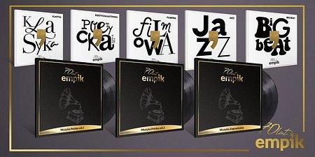 Kalejdoskop muzycznych hitów ostatnich siedmiu dekad. Jubileuszowa kolekcja muzyczna Empiku