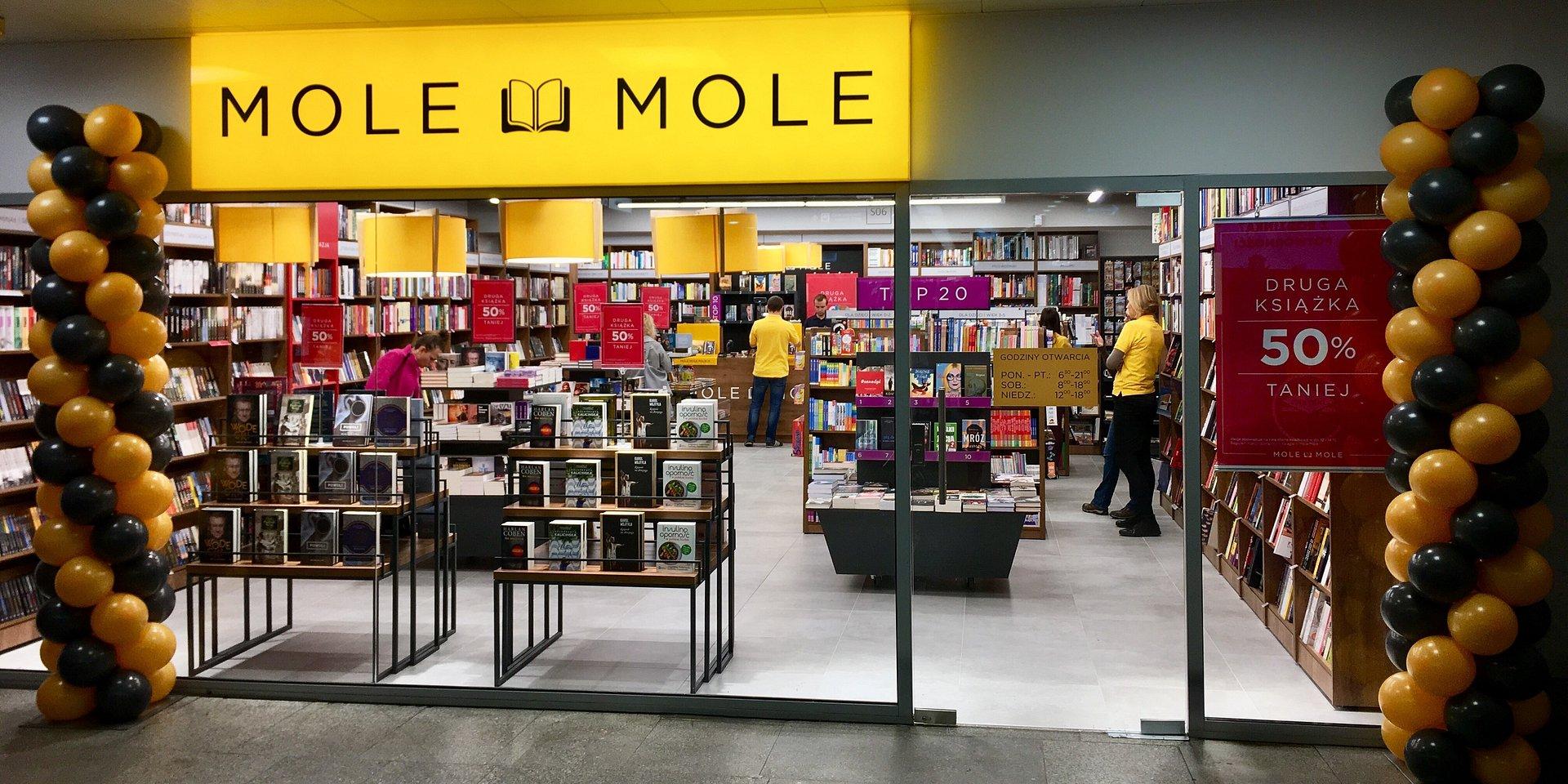 Otwarto księgarnię Mole Mole na Dworcu Centralnym