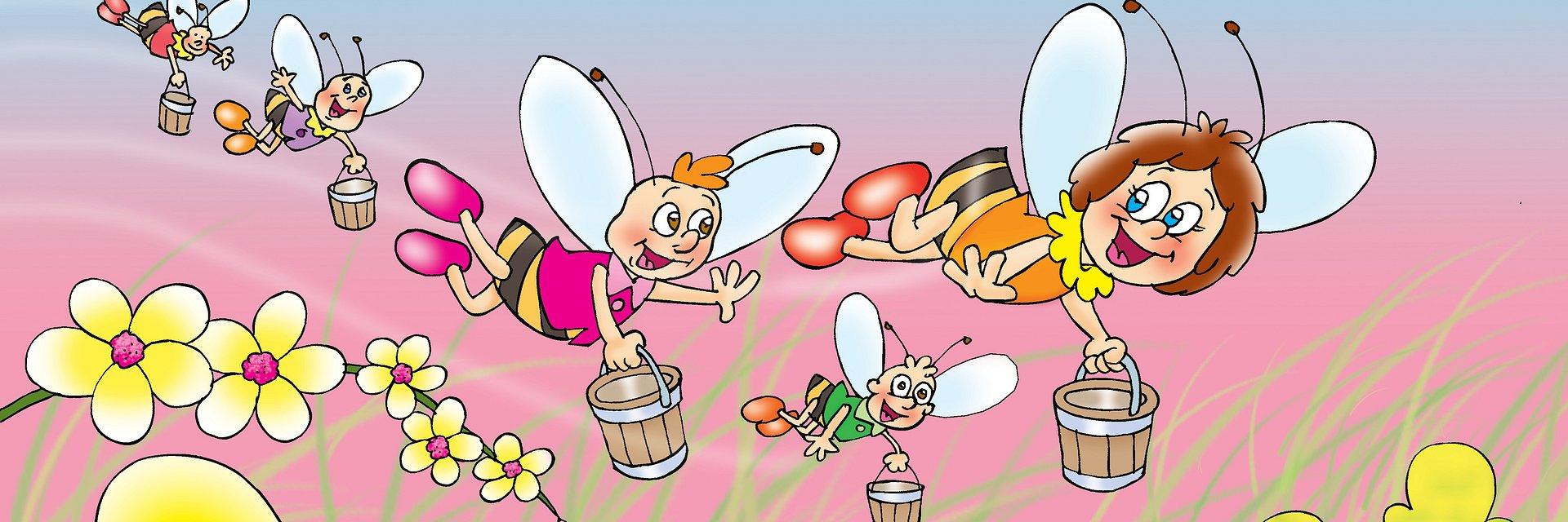 Pszczółka Maja odwiedzi Zielone Arkady