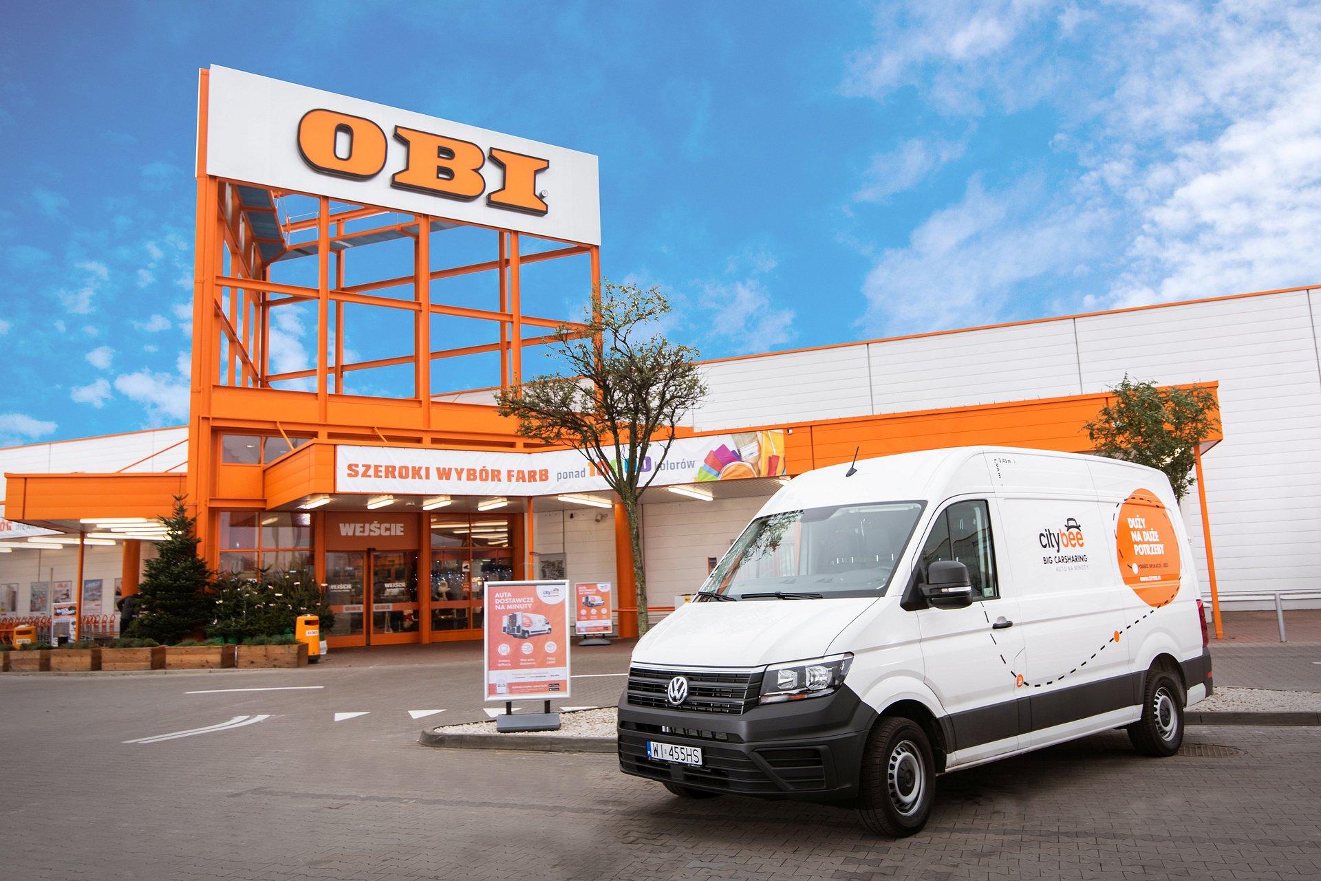 BIG Carsharing dla klientów OBI