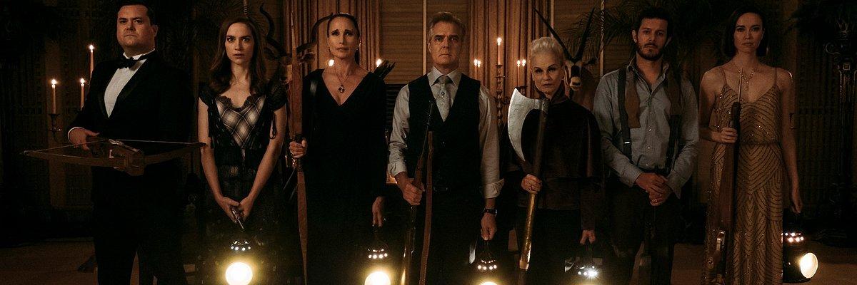 """Andie MacDowell jako żądna krwi teściowa w filmie """"Zabawa w pochowanego"""". 11 października w kinach."""