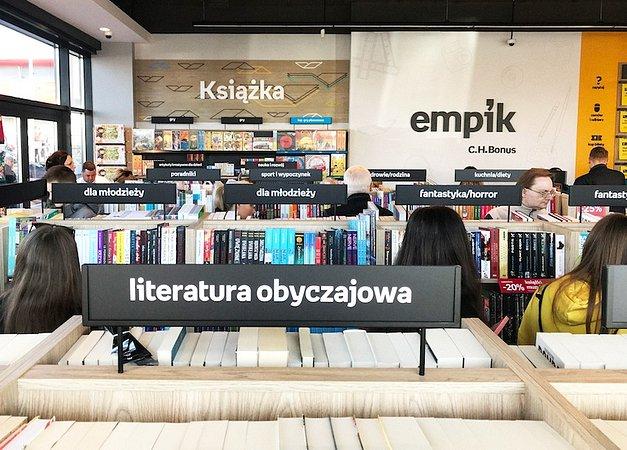 Pierwszy salon Empik w Ciechanowie