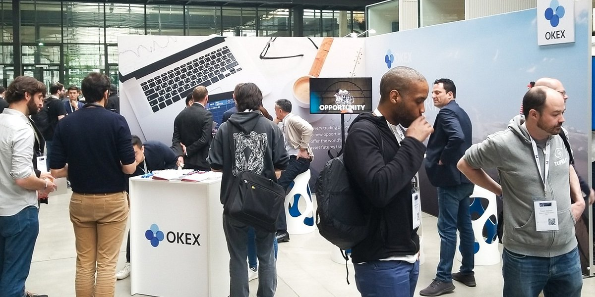 OKEx at Paris Blockchain Week Summit - See You Tomorrow