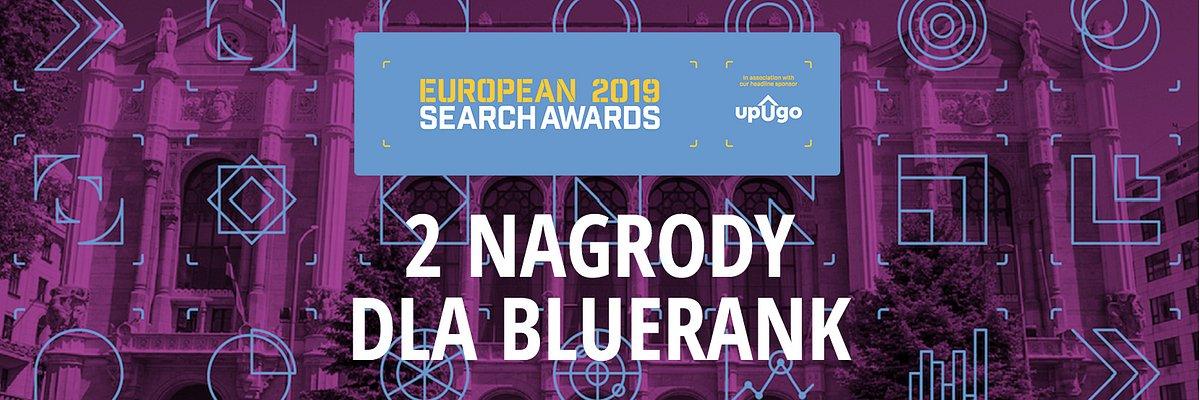 Łódzki Bluerank najlepszy w Europie wśród firm marketingu w Internecie- zdobywa nagrody w aż dwóch kategoriach.