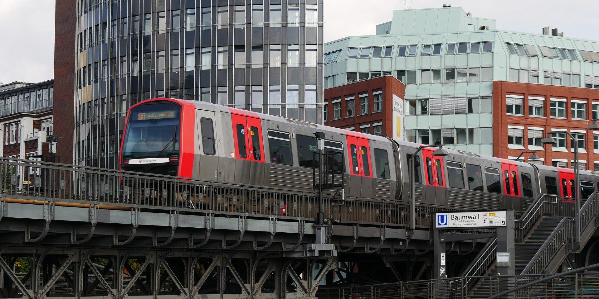Alstom dostarczy 32 dodatkowe pociągi metra typu DT5 do Hamburga