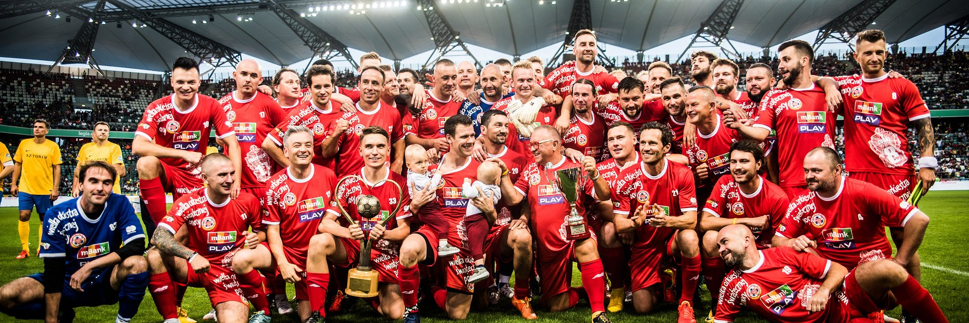 Wielki Mecz 2019 –TVN i WOŚP w kolejnej piłkarskiej rywalizacji