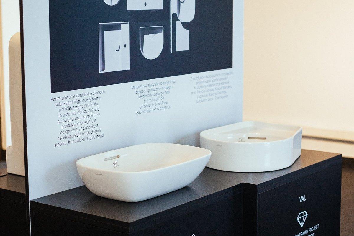 """Laufen wspiera ekologiczną inicjatywę """" design w przestrzeni publicznej. Woda"""" zorganizowaną przez Zamek Cieszyn."""