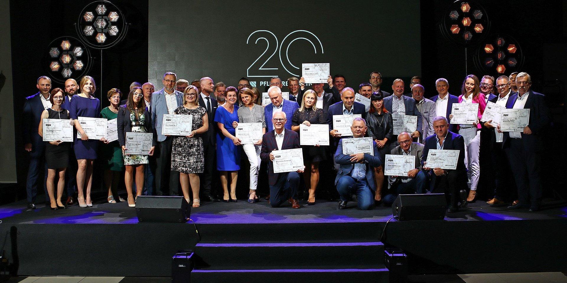 20 lat minęło! Jubileusz sieci dystrybucji Pfleiderer Partner