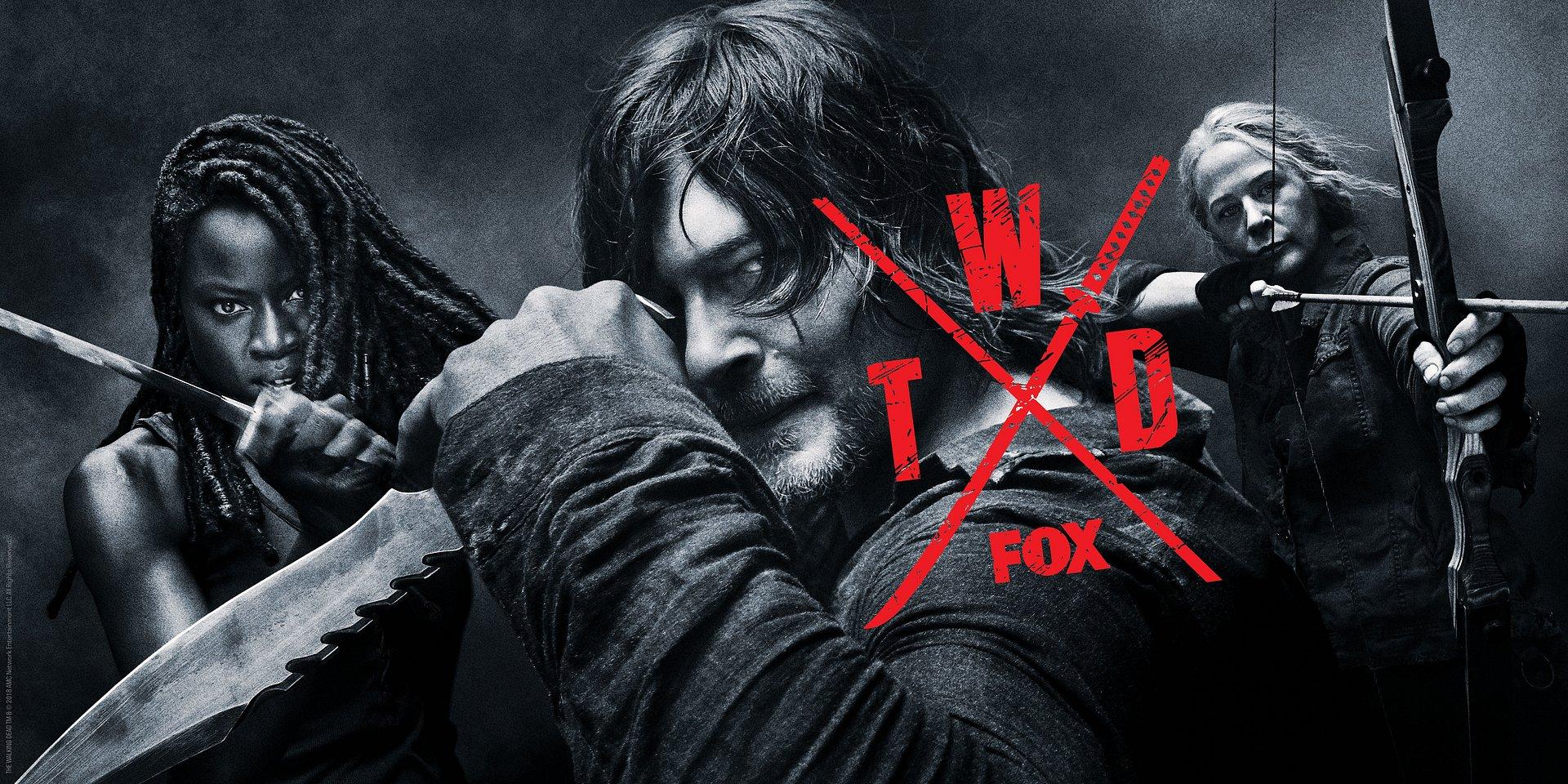 Nadchodzi 10. sezon The Walking Dead! Oto specjalny plakat na San Diego Comic Con 2019!