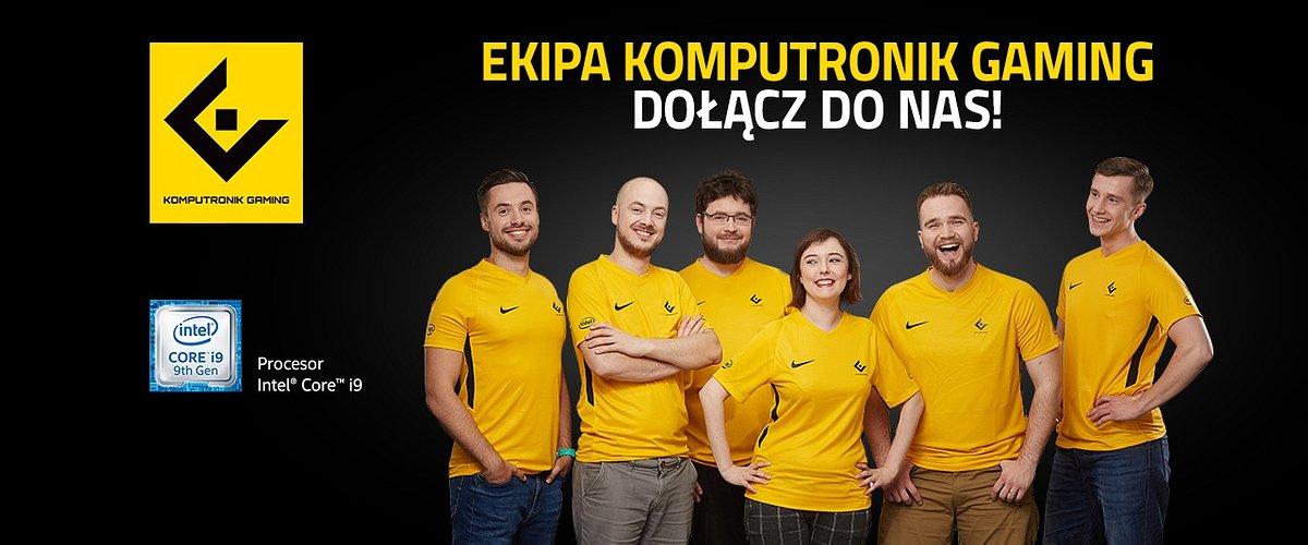 Ekipa Komputronik Gaming. Profesjonalni promotorzy e-sportu