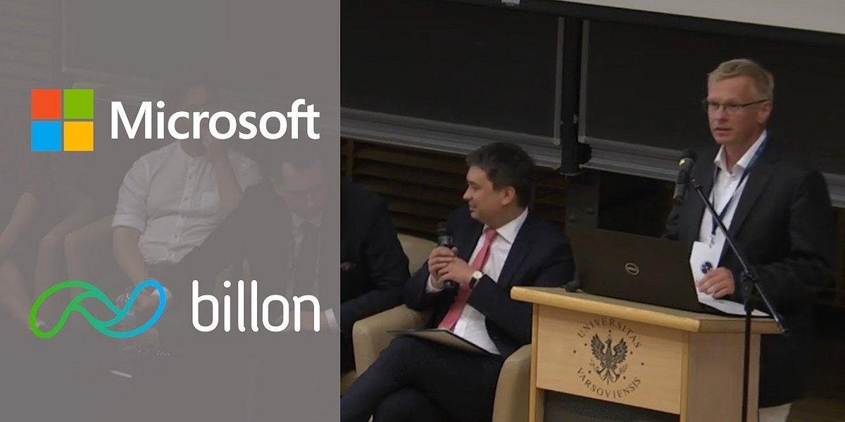 Billon i Microsoft wspólnie na Uniwersytecie Warszawskim