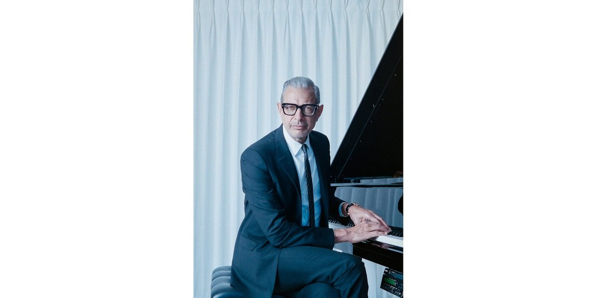 Jeff Goldblum ogłasza drugi album