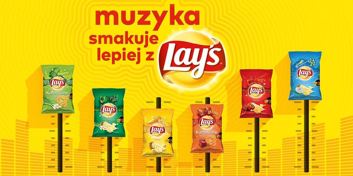 Muzyka Smakuje Lepiej z Lay's - zabierz paczkę na festiwal! Pierwsza muzyczna kampania marki Lay's
