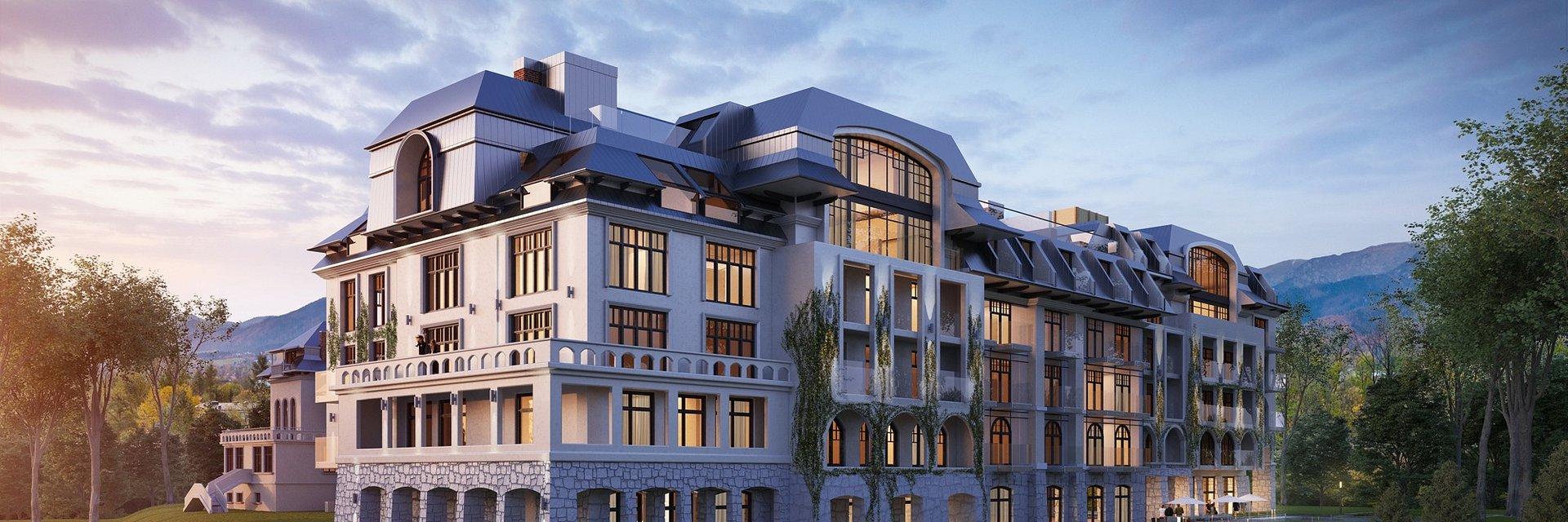 Grupa Nosalowy zdradza, jaki będzie Nosalowy Park Hotel & SPA - ruszyła strona teaserowa nowego hotelu