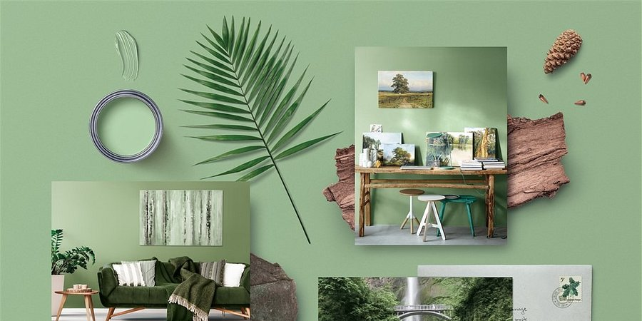 Deixe entrar a natureza em sua casa com Evergreen #E732 da CIN