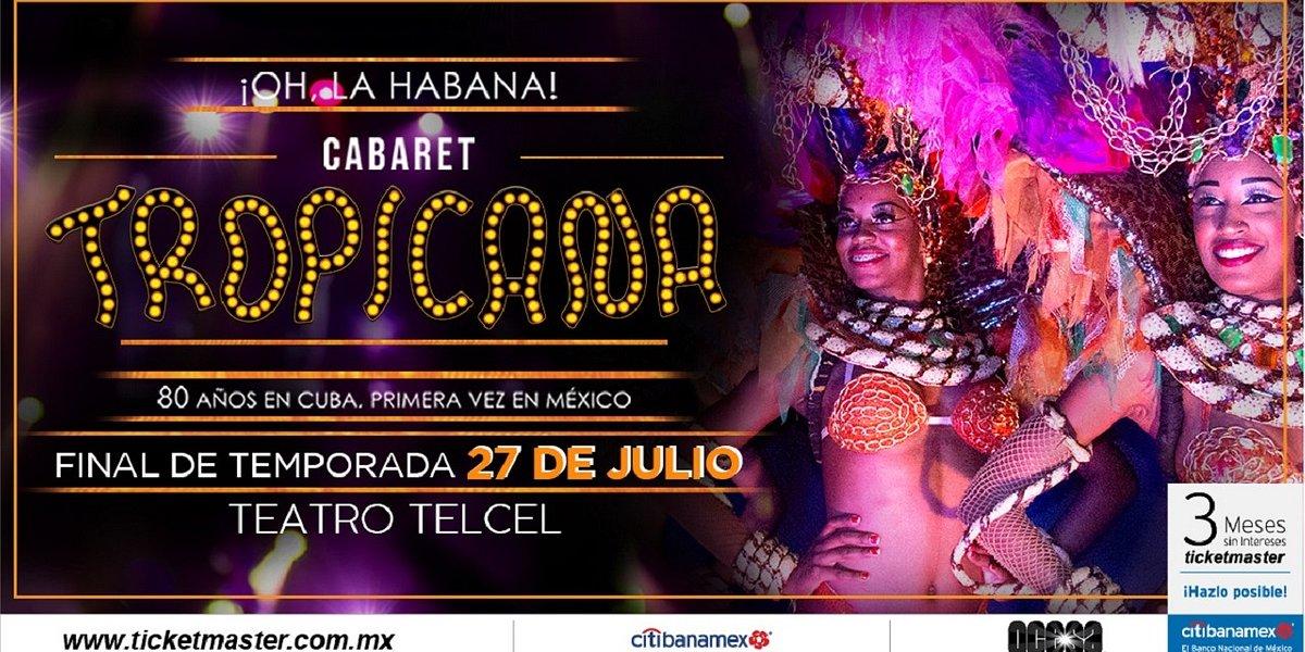 ¡Oh, La Habana! del Cabaret TROPICANA anuncia sus últimas fechas en el Teatro