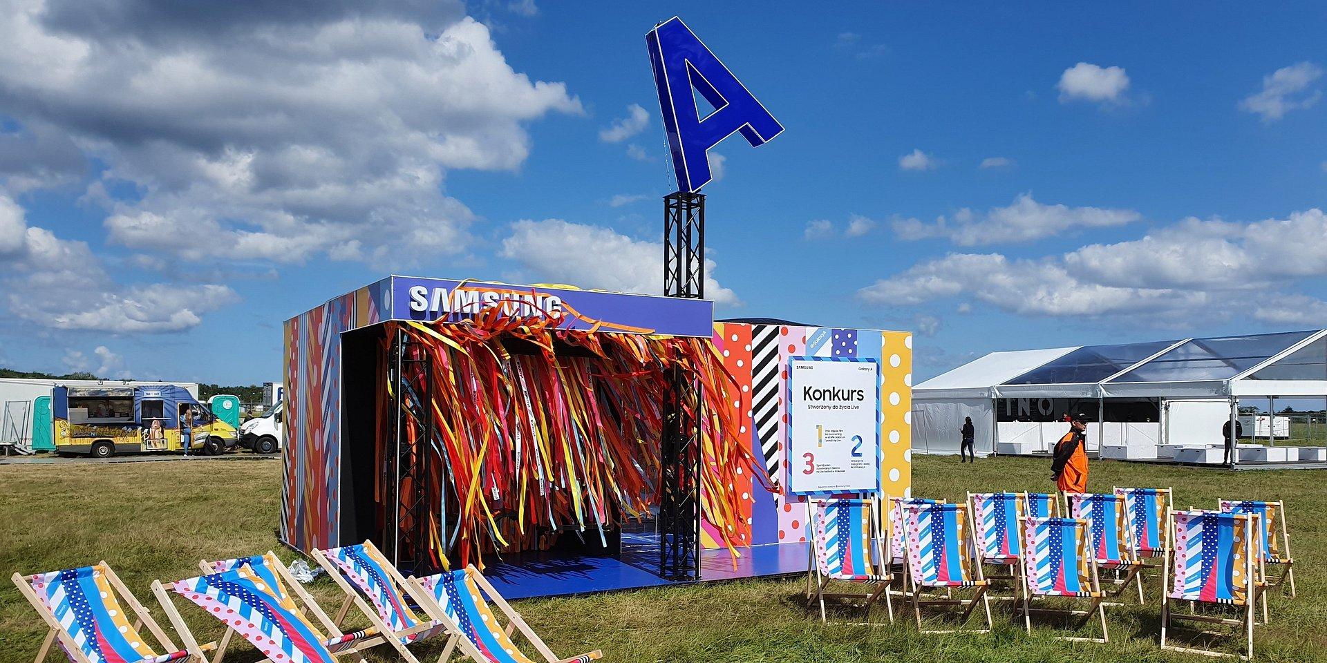 Samsung ze specjalną strefą Galaxy A podczas letnich muzycznych festiwali