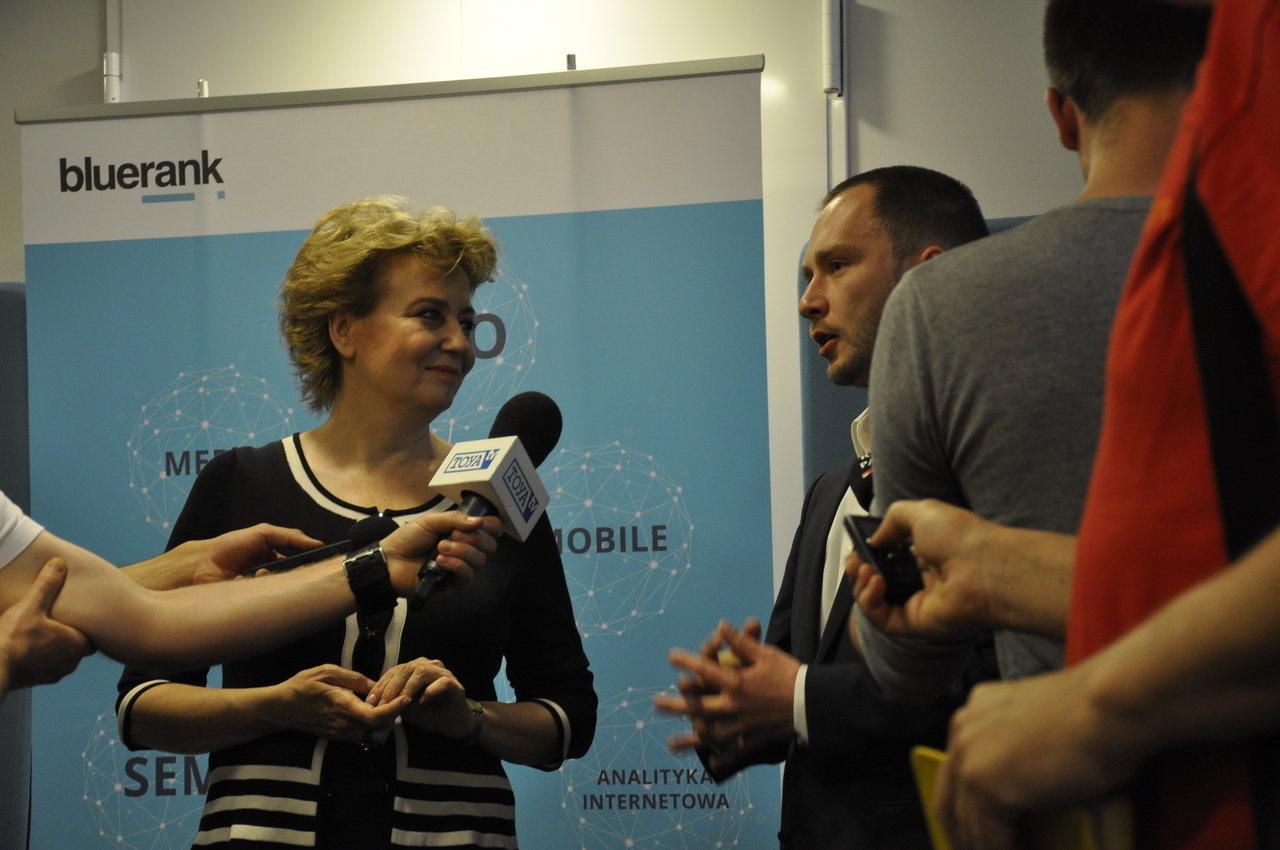 Konferencja prasowa z udziałem Pani Prezydent Łodzi Hanny Zdanowskiej