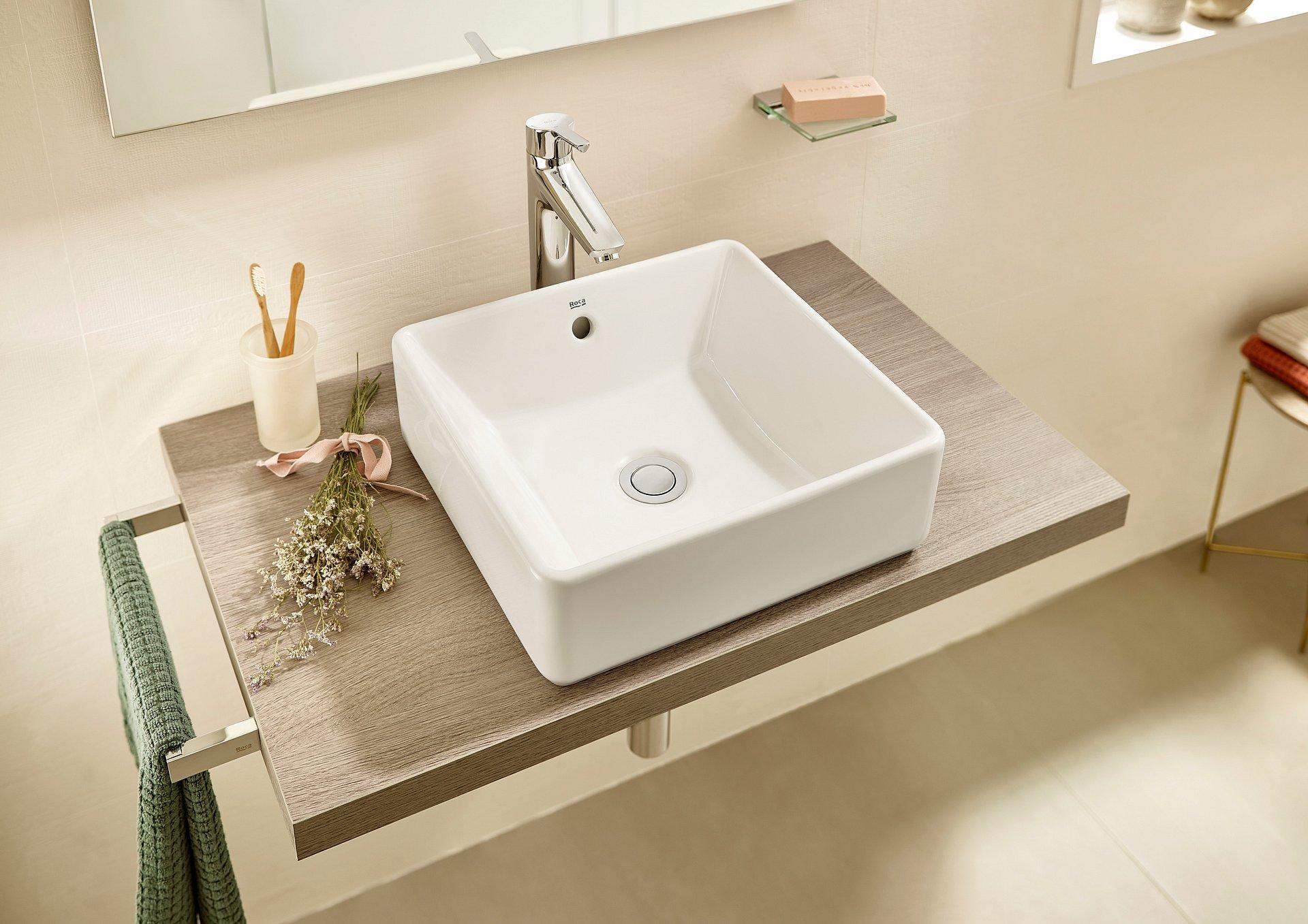 Wybierz bohatera twojej łazienki czyli jedną z umywalek łazienkowych Roca Alter