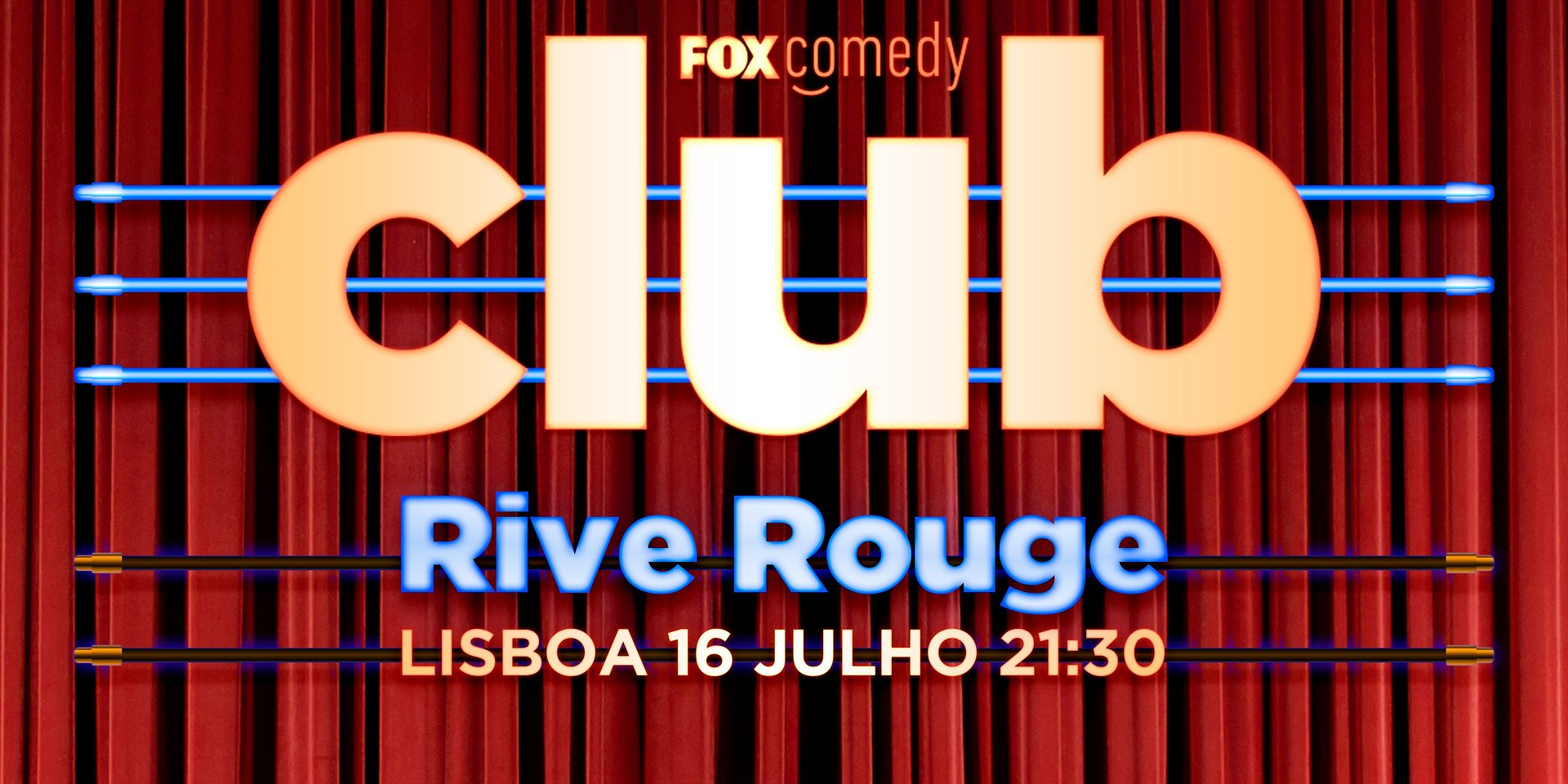 O SEGUNDO ESPETÁCULO DO FOX COMEDY CLUB COM STAND UP AO VIVO É JÁ AMANHÃ