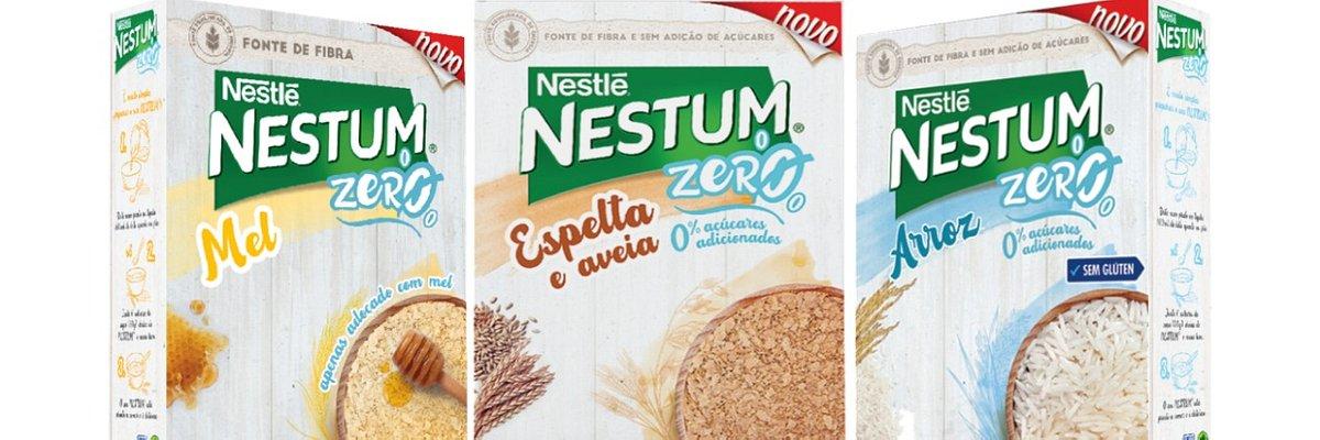 Novos NESTUM Zero - 0% açúcares adicionados