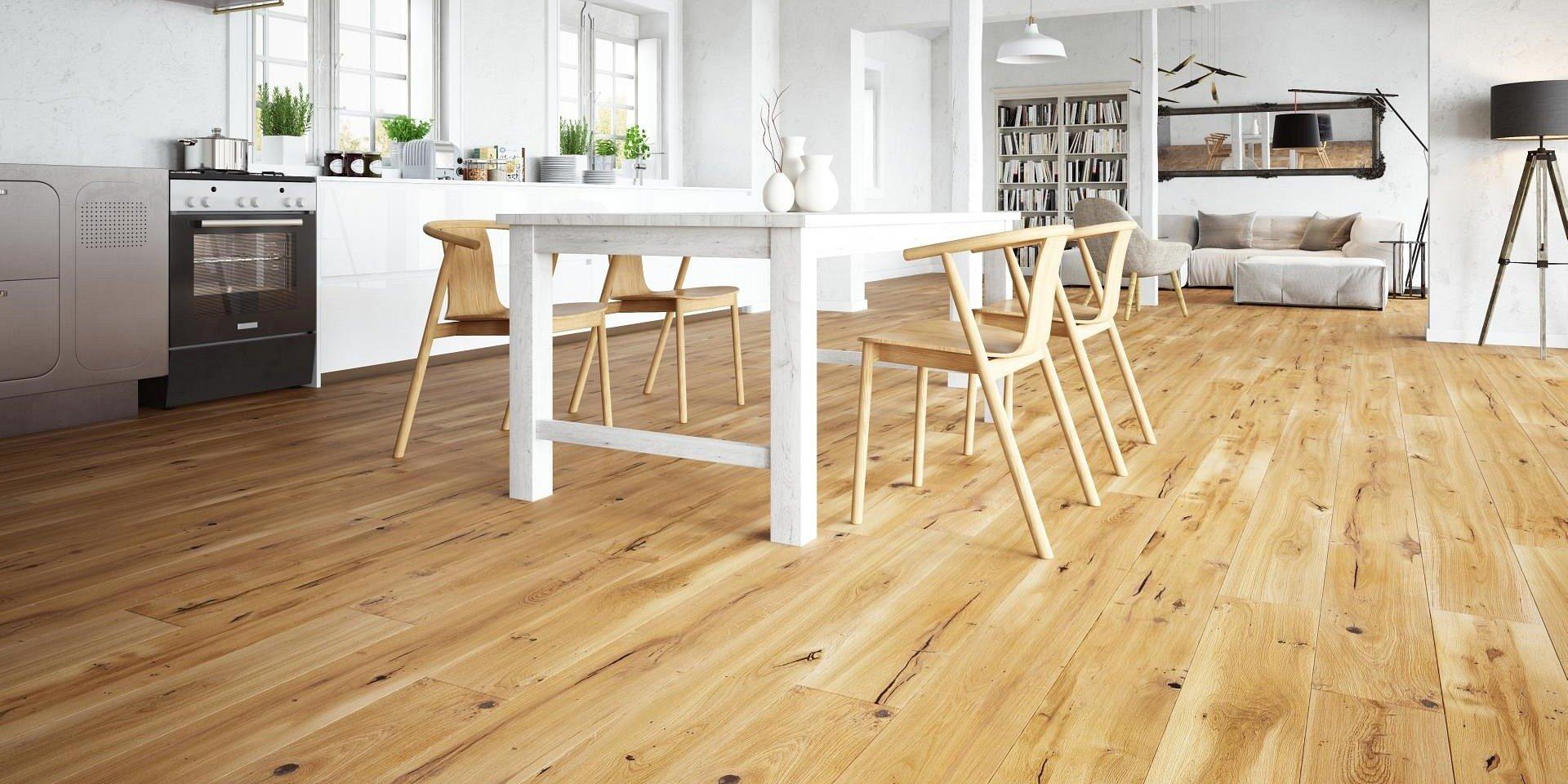 Podłoga z drewna - od montażu po finalny wygląd wnętrza