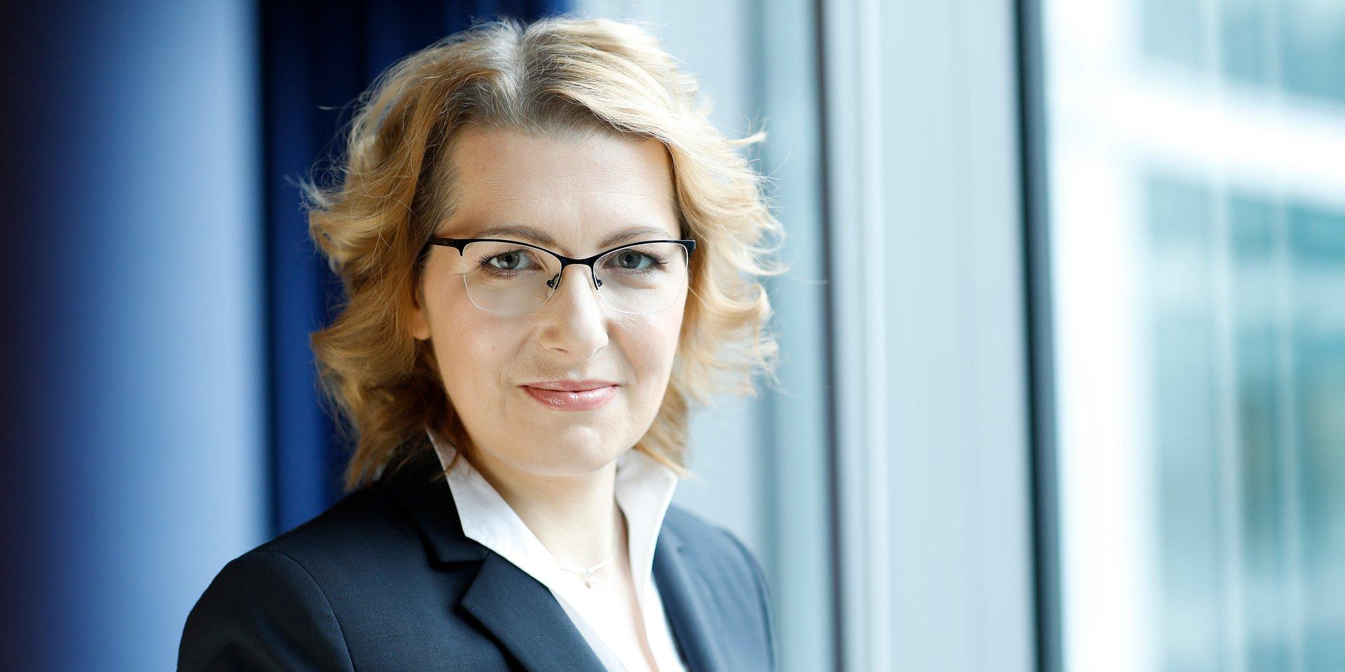Dorota Wysokińska-Kuzdra na stanowisku senior partnera w Colliers International