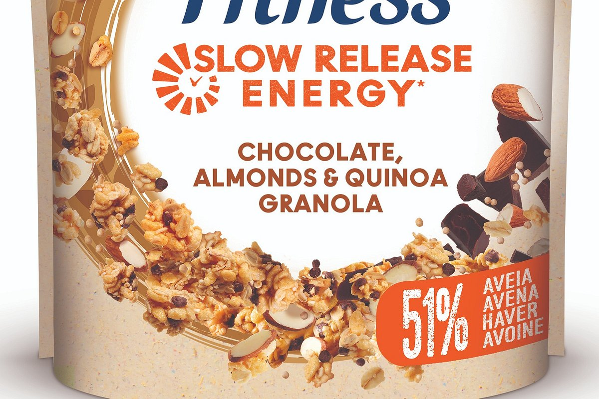 Fitness Granola renova imagem e lança novas receitas e variedade com quinoa
