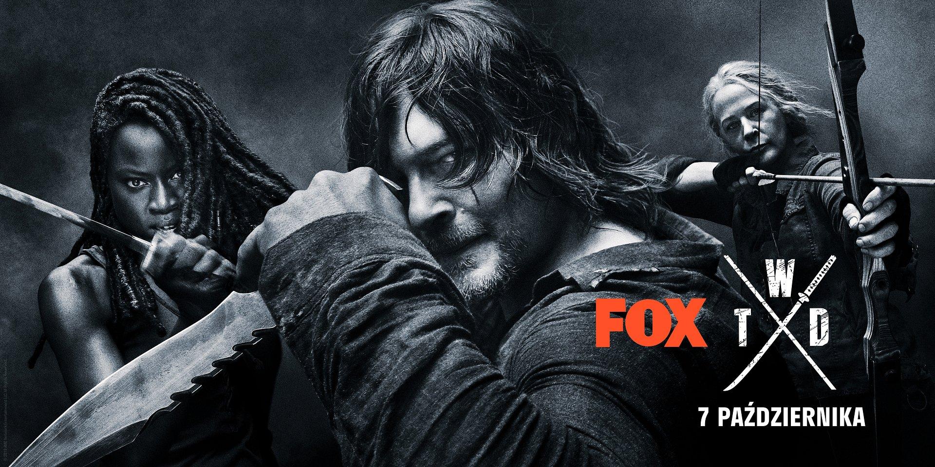 FOX ujawnia datę premiery oraz pierwszy trailer 10. sezonu The Walking Dead!