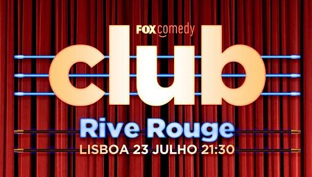 O TERCEIRO ESPETÁCULO DO FOX COMEDY CLUB COM STAND UP AO VIVO ESTA NOITE
