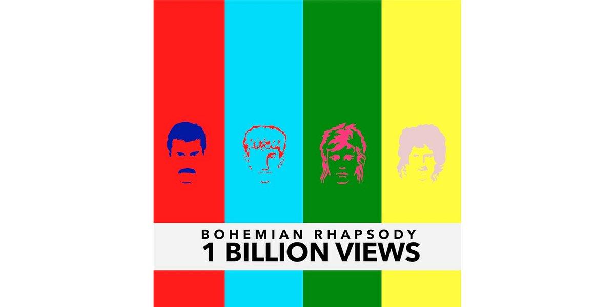 """Teledysk Queen """"Bohemian Rhapsody"""" z historycznym wynikiem miliarda wyświetleń"""