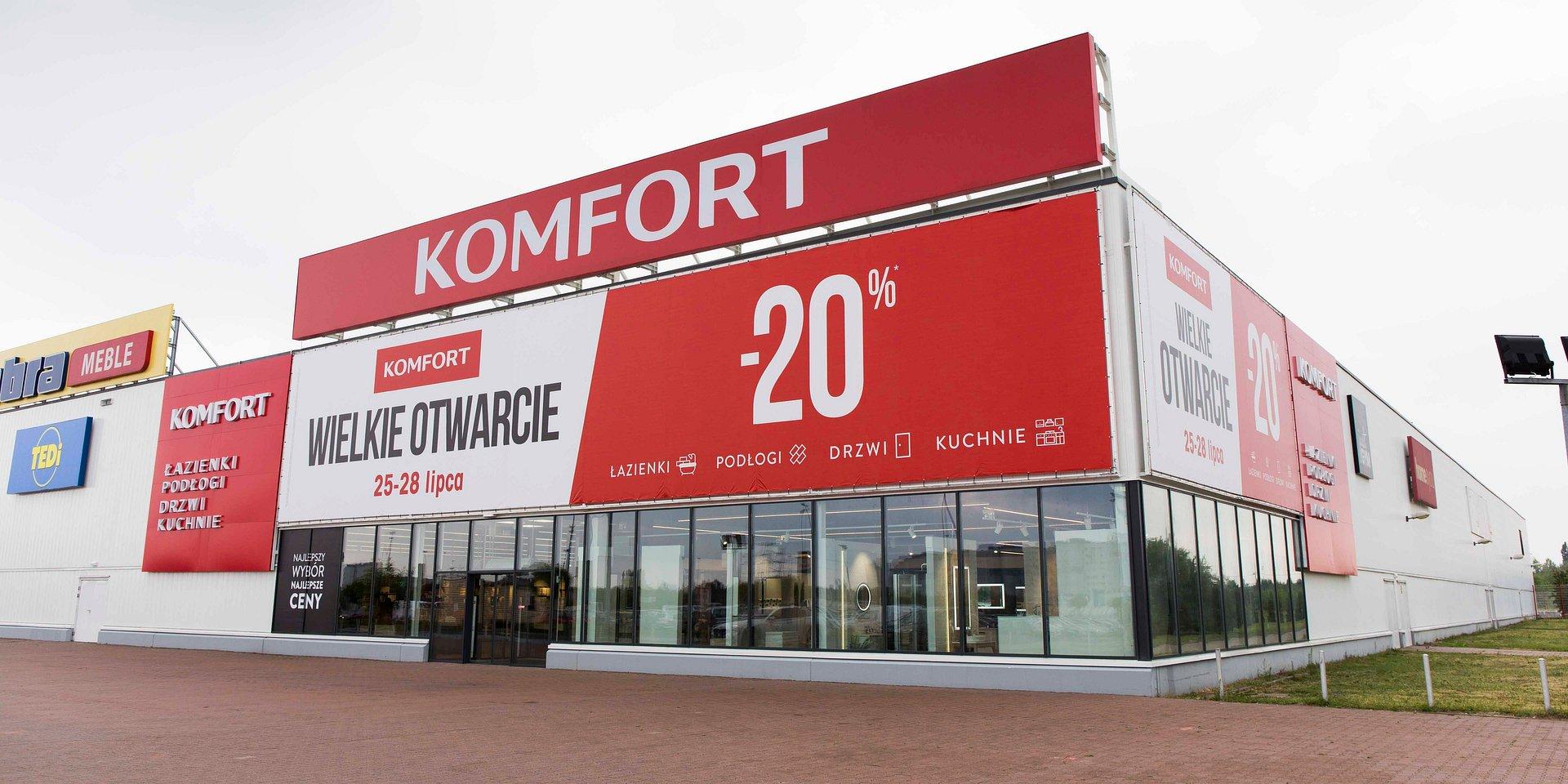 Trzeci taki w Polsce - nowy KOMFORT w Poznaniu