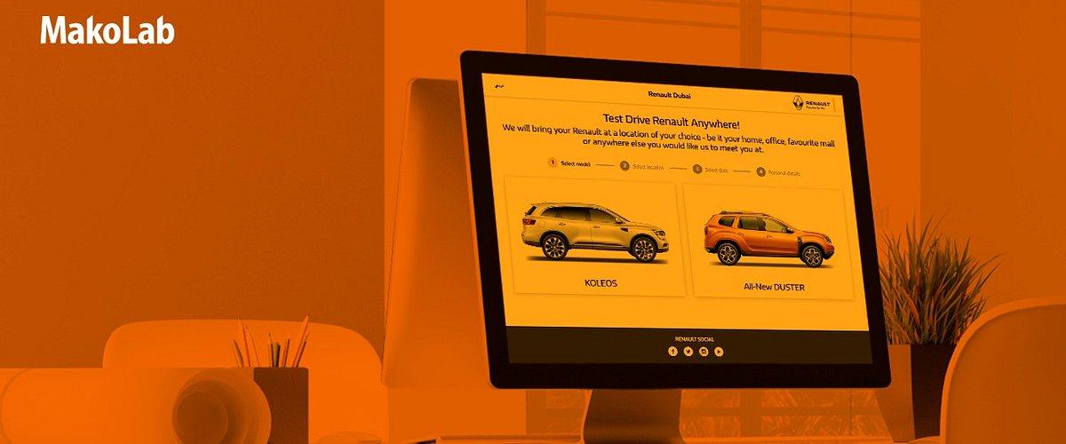 Test Drive Renault Anywhere – nowe strony do rezerwacji jazd testowych dla Renault w regionie Middle East