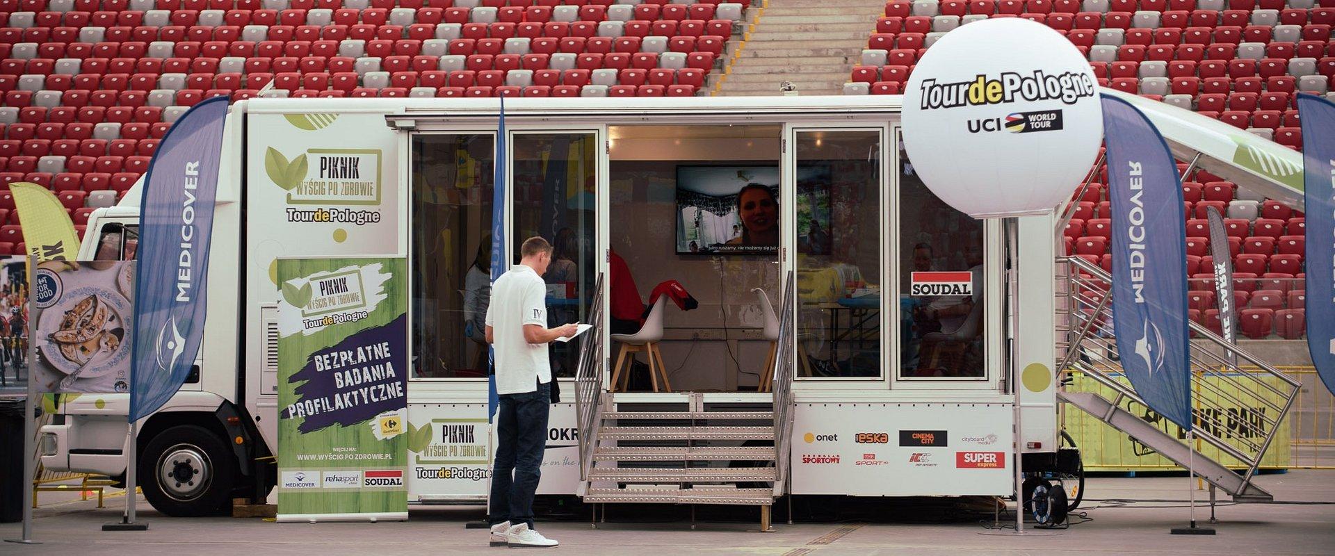 Medicover Polska i Rehasport Clinic partnerami medycznymi na trasie Tour de Pologne z Piknikami rodzinnymi Wyścig po zdrowie