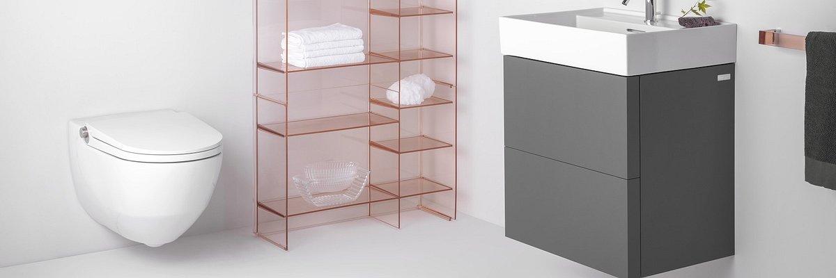Inteligentna toaleta Cleanet Riva-zaawansowana technologia i minimalizm zapewniają idealną higienę