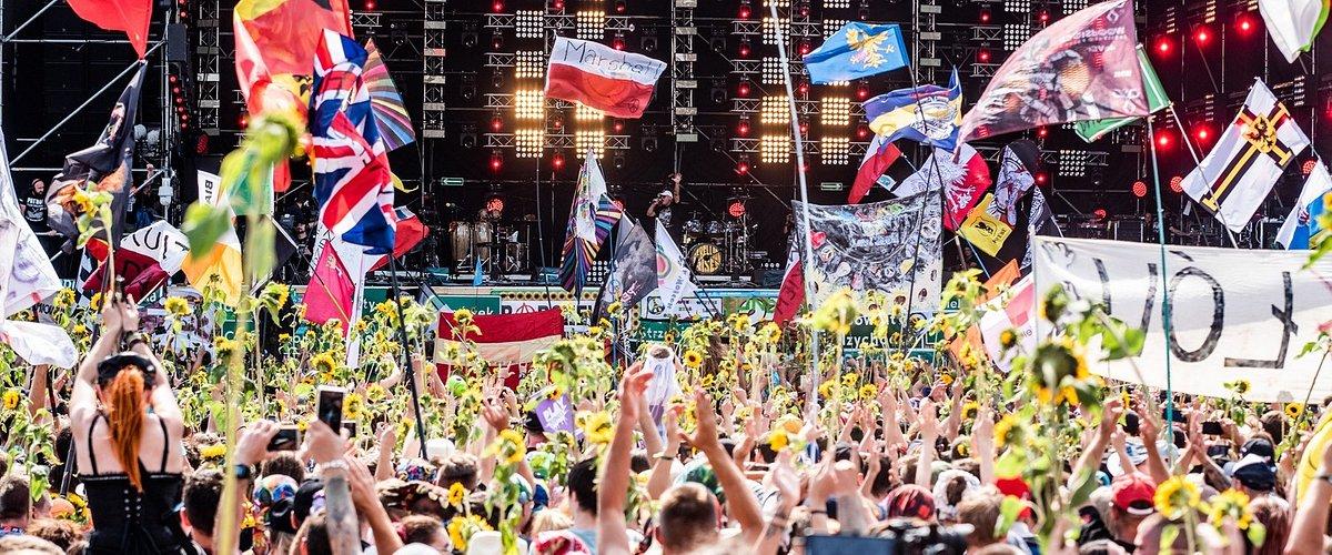 Pierwszy dzień 25. – jubileuszowej – edycji Pol'and'Rock Festival