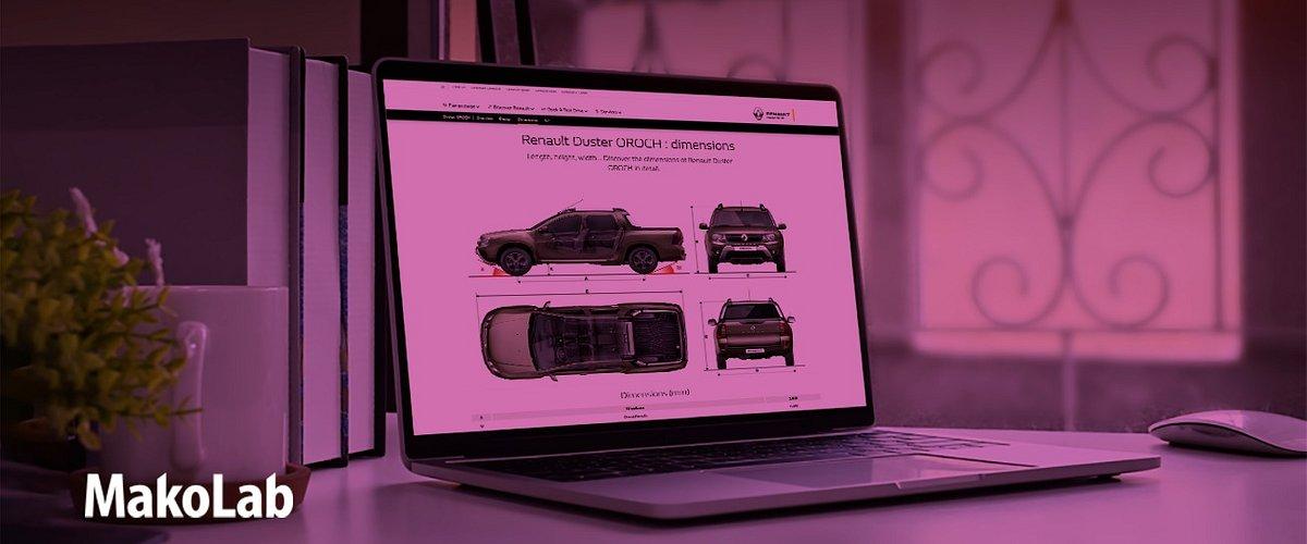 MakoLab i Renault w Afryce – nowa wersja strony www Renault w Nigerii