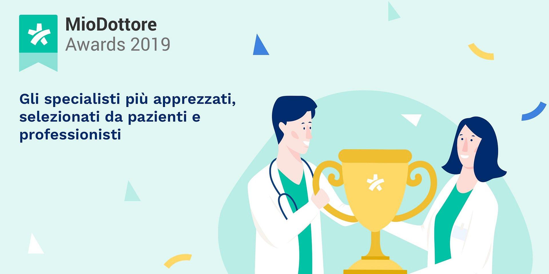 MioDottore Awards 2019: ecco i 26 medici più apprezzati da colleghi professionisti e pazienti