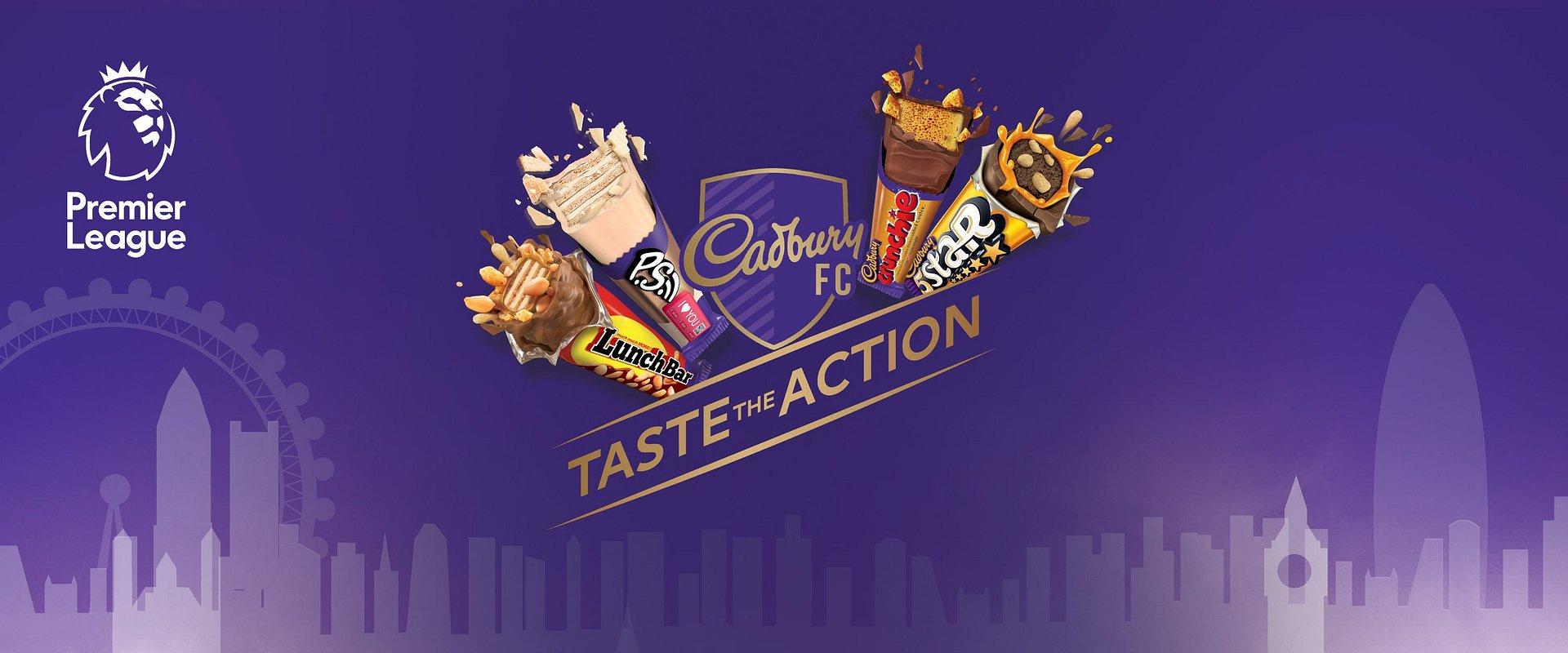 Score a once in a lifetime experience with 'Cadbury FC, Taste the Action' to watch a Premier League game live in the UK!                           #CadburyTasteTheAction