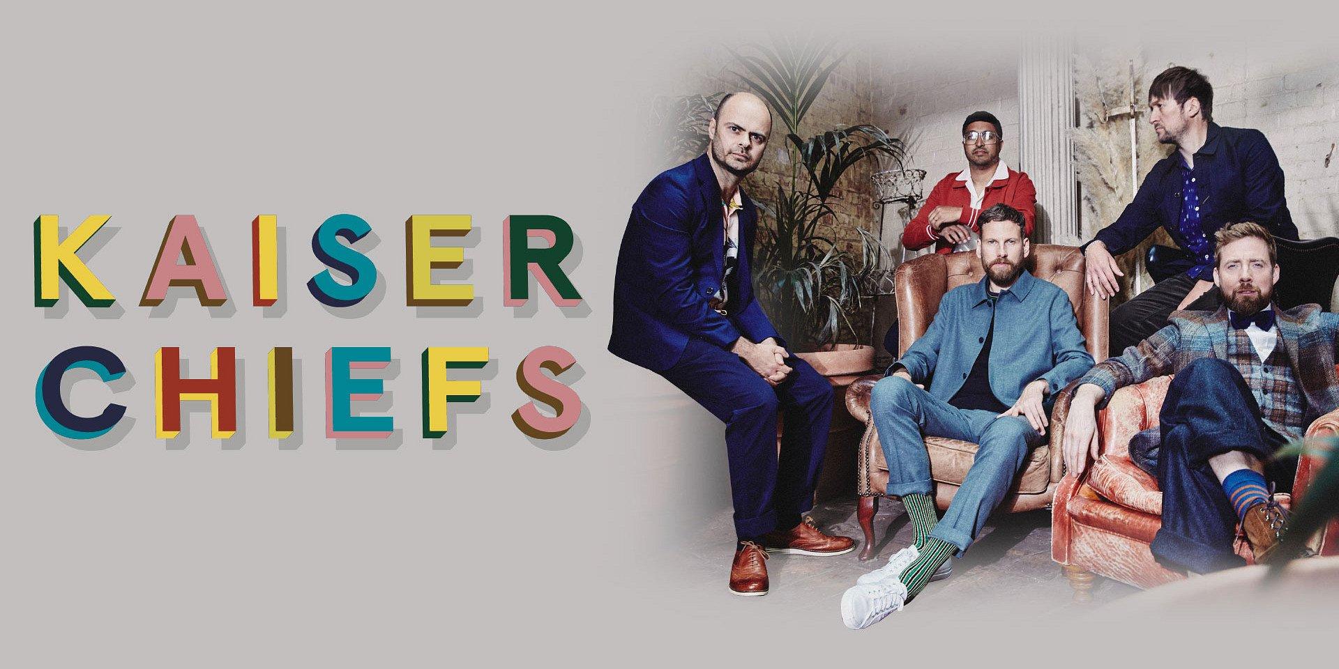 """Kaiser Chiefs estará de regreso en México con """"Duck"""", su nuevo disco"""