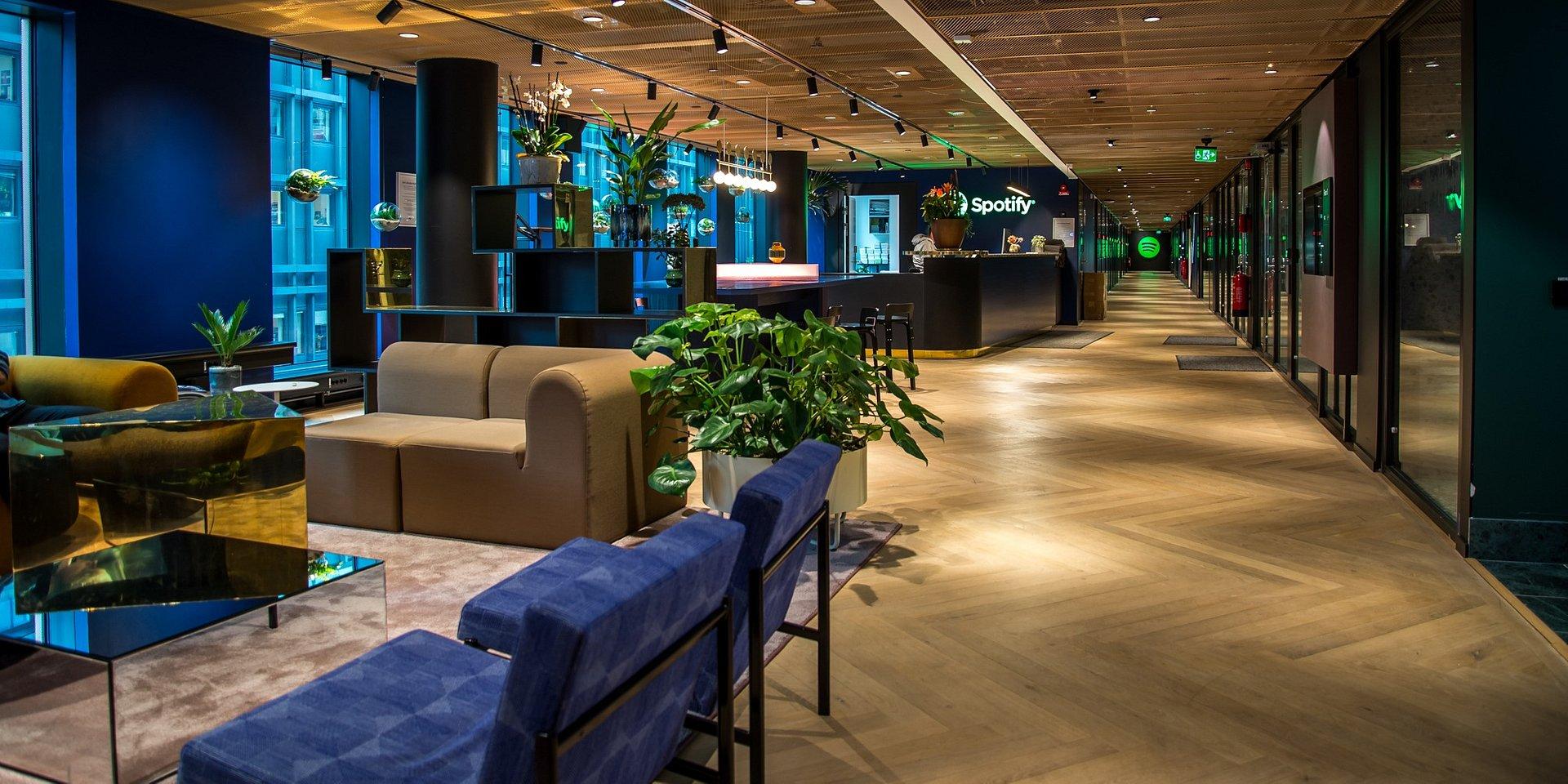 Spotify Büro Stockholm