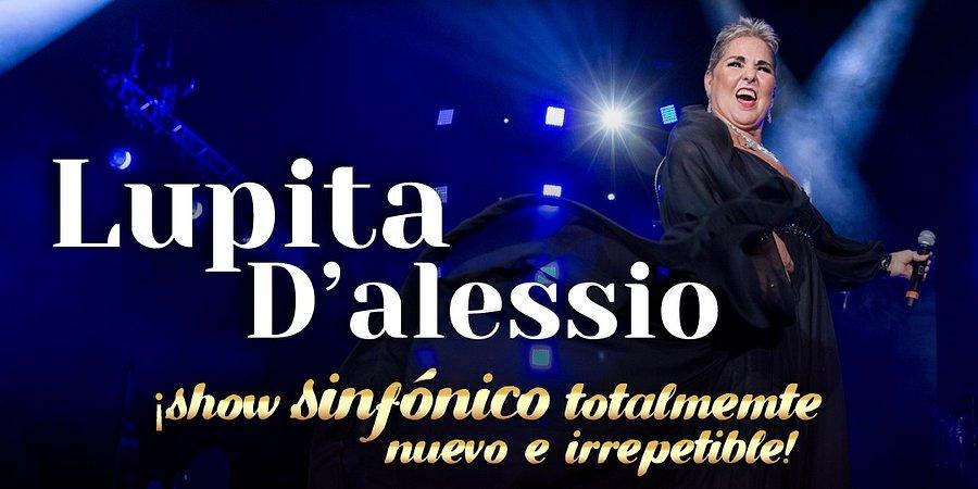 Con show sinfónico, Lupita    D´Alessio festejará sus 47 años de trayectoria