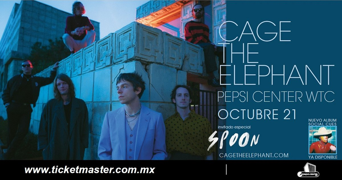 CAGE THE ELEPHANT ANUNCIA CONCIERTO EN CDMX
