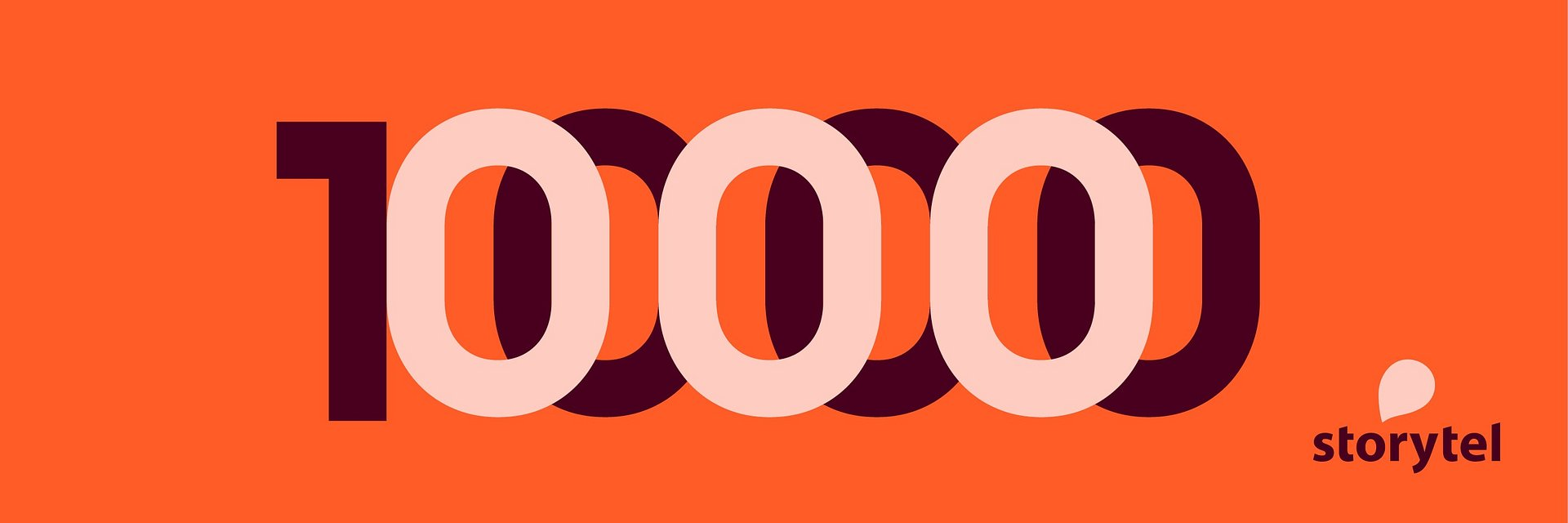 Storytel ma już ponad milion abonentów